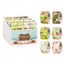 grossiste Mallettes, boites à outils et kits: Ruban en tissu Noël 6- fois assorti , environ 4,