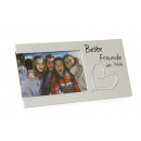 groothandel Foto's & lijsten: Fotolijst Beste vrienden ter wereld , ca. 25x13cm