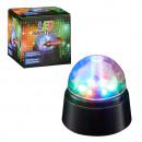 LED party light, approx. 9cm diameter