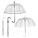 Großhandel Regenschirme: Glockenschirm, Automatik, 2-fach sortiert 84cm Dur