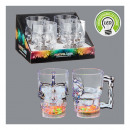 LED party glass
