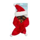 groothandel Poppen & Pluche: Kerstset voor honden, pluche, 2 stuks