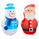 wholesale Dolls &Plush: Inflatable Christmas figures, 2- times assorted ,
