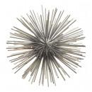 groothandel Woondecoratie: Egelbal, roestvrij staal, zilver, S, ong. 10 cm di