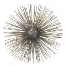 groothandel Woondecoratie: Egelbal, roestvrij staal, zilver, M, ong. 20 cm di