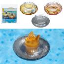nagyker Sport és szabadidő: Felfújható pohártartó, csillogó gyűrű, 3 ...