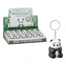 Kulcstartó panda, fénnyel és hanggal, kb.