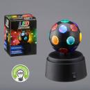 grossiste Installation electrique: Boule disco LED, env.12 cm de haut