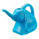 wholesale Garden Equipment: Watering can elephant, blue, approx. 1.9 l