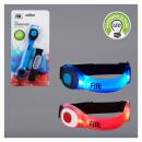 Großhandel Schmuck & Uhren: LED Armband, FIIT, 2-fach sortiert