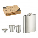 Hip flask set, 4 pieces, approx. 18ml