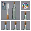 Lampe LED pour bouteille, fibre de verre