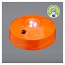 LED pumpkin light, approx. 8 cm in diameter