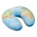 mayorista Maletas y articulos de viaje: Almohada para el cuello, mapa del mundo