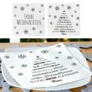 Szalvéta, karácsony, 2 szer szortírozott kiszállít