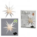 Großhandel Garten & Baumarkt: LED Stern, faltbar, weiß, OUTDOOR, groß, ca. ...