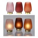 groothandel Verlichting: LED-lamp, glas, mat, 3- maal geassorteerd klein
