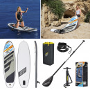 grossiste Sports & Loisirs: Bestway, Stand Up Surfboard SUP, Casquette Blanche