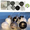 Lumières LED Cottonball, mélange de couleurs2, 10L