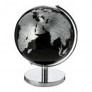Globo, nero / argento, girevole, diametro 21 cm ci