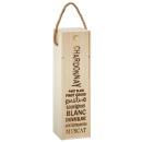 mayorista Alimentos y bebidas: Caja para botellas Vino , aprox. 35 cm de altura