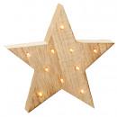 LED természetes csillag