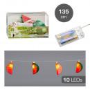 groothandel Lichtketting: LED lichtketting Melon , 10LED, 135cm