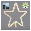 groothandel Verlichting: Neonlicht ster, warm wit, 28x28cm