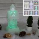 mayorista Material escolar: LED glam house, cambio de color, 6 LED, 25 cm de a