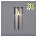 Woskowe szkło świecące LED, ruchomy płomień, 2-kro