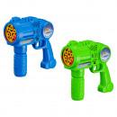 Soap bubble gun XXL, including 2x120ml soaps