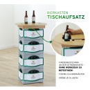 groothandel Tuin & Doe het zelf: Bierkrat tafelblad, diameter ca. 60cm