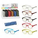 groothandel Leesbrillen en accessoires: Elegante leeshulp met etui, 6- maal geassorteerd