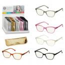 groothandel Leesbrillen en accessoires: Leeshulpmiddel glitter met etui, 5- maal ...