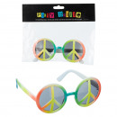 Okulary na imprezę Peace Rainbow