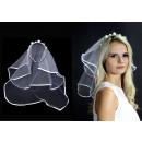 groothandel Woondecoratie: Hoofdband met bruidssluier