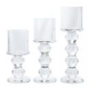 nagyker Gyertyák és gyertyatartók: Tealight gyertyatartó kristály M kb. ...