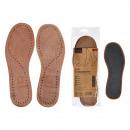 Semelle intérieure, cuir, large 35-46, 1 paire
