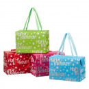 Gift bag, Happy Birthday , 4- times assorted , S,