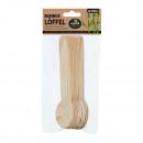 Bambuszkanál, 12 darabos, kb. 16 cm