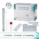 Test rapido per l'antigene Covid19, marca: Hei