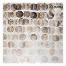 grossiste Images et cadres: Tableau cercles gris by Homania
