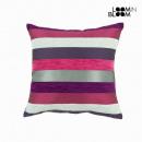 Großhandel Bettwäsche & Matratzen: Lila motegi kissen  - Colored Lines Kollektion by L