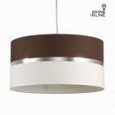 grossiste Lampes: Suspension couleur  wenge et toile by Shine Inline