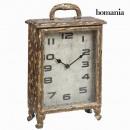 grossiste Maison et habitat: Horloge vintage marron by Homania