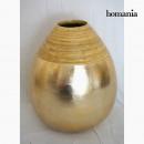 grossiste Pots de fleurs & Vases: Vase en bambou champagne by Homania