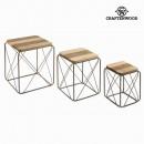 Großhandel Röcke: Set aus 3 tischen by Craften Wood