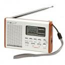 Großhandel Consumer Electronics: Tragbares Radio  NEVIR NVR-120 Schwarz