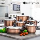 wholesale Pots & Pans: Cook D'Lux Pots  and Pans Set (12 pieces)