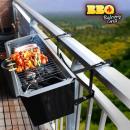 Barbacoa de Carbón para Balcón BBQ Quick